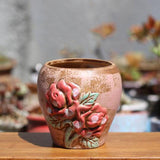 Hand Painted Ceramic Flowerpot