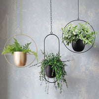 Metal Hanging Plant Pot
