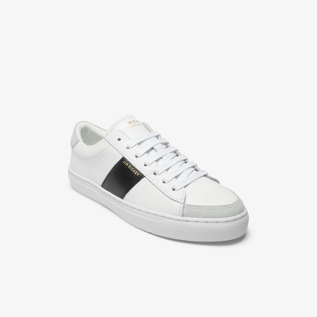 Vision - Leather - White Black - Jim Rickey Stockholm