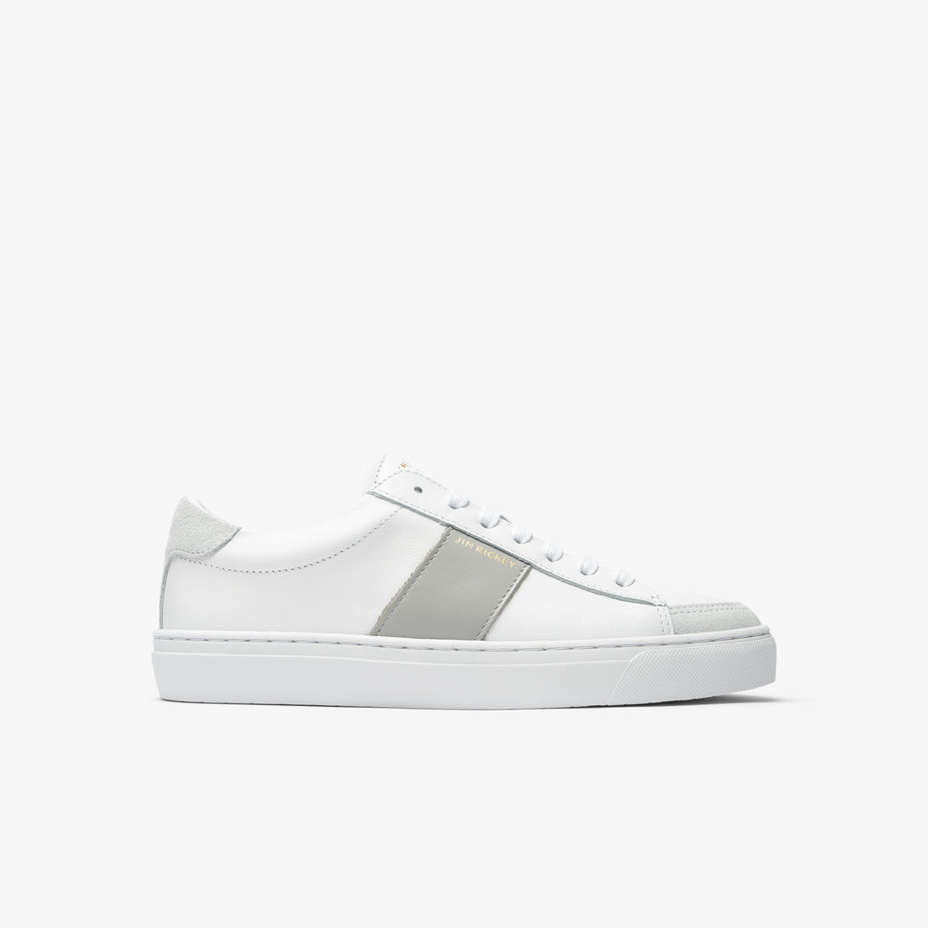 Vision - Leather - White Grey - Jim Rickey Stockholm