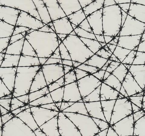 (NEW) MET010 - Barbed Wire (100cm)