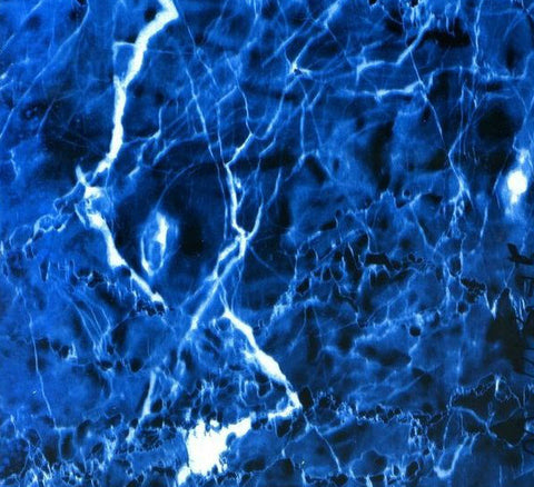 MAR001 - Blue Lightning Marble (100cm)