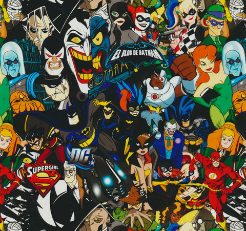 (NEW) CAR036 - DC Super Friends & Villains (100cm)