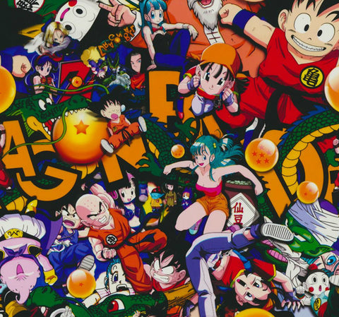 (NEW) CAR027 - Dragon Ball (100cm)
