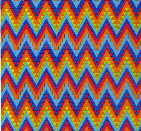 (NEW) FAB083 - Native American Chevrons (100cm)