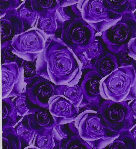 (NEW) FWR036 - Purple Roses (50cm)