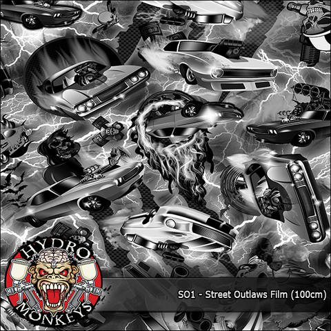 (NEW) HMK028 - Hydro Monkeys Street Outlaws (100cm)