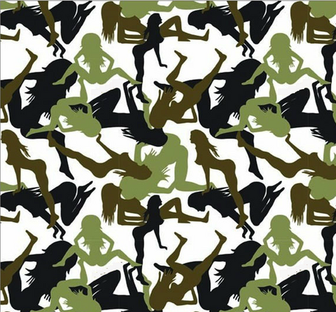 ABS002 - Mud Flap Girl Camo (100cm)