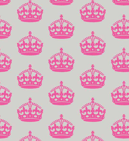 FAB020 - Small Pink Crowns (50cm)