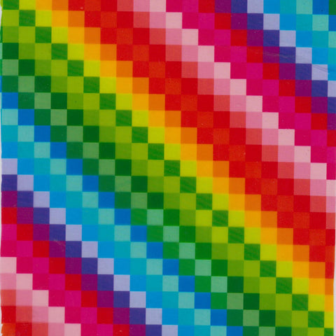 GEM016 - Pixelated Rainbow (50cm)
