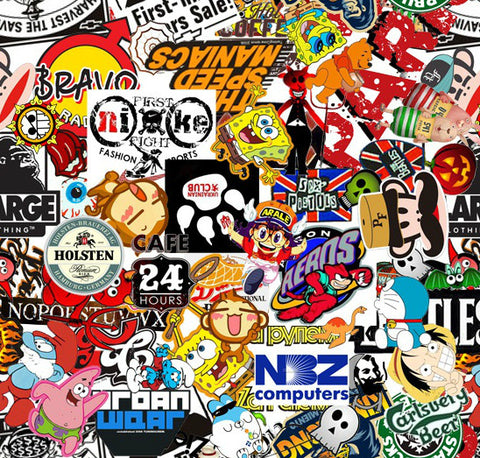 STB015 - Pop Culture StickerBomb (100cm)