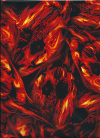 FLM010- Red Flaming Specters (100cm)
