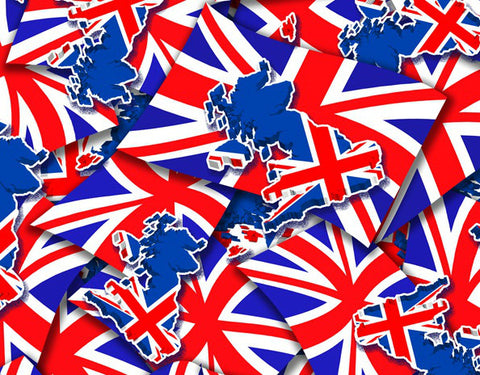 FLG003 - Union Jack Map (50cm)