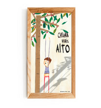 "Load image into Gallery viewer, ILLUSTRATION ""CHEGAR MAIS ALTO - GirafaNaLua"