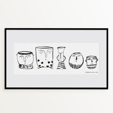 "Load image into Gallery viewer, ILLUSTRATION ""Jars"" - GirafaNaLua"