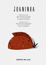 "Load image into Gallery viewer, ILLUSTRATION ""Joaninha"" - GirafaNaLua"