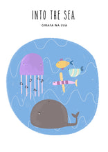 "Carregar imagem no visualizador da galeria, ILLUSTRATION ""Into the Sea"" - GirafaNaLua"