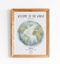"Carregar imagem no visualizador da galeria, ILLUSTRATION ""Welcome to the world"" - GirafaNaLua"