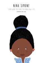 "Load image into Gallery viewer, ILLUSTRATION ""Nina Simone"" - GirafaNaLua"