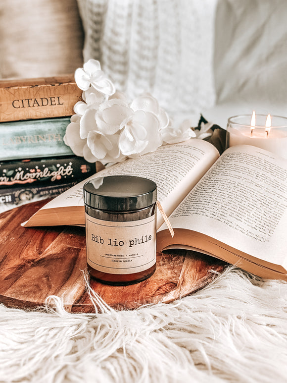 Bibliophile Candle