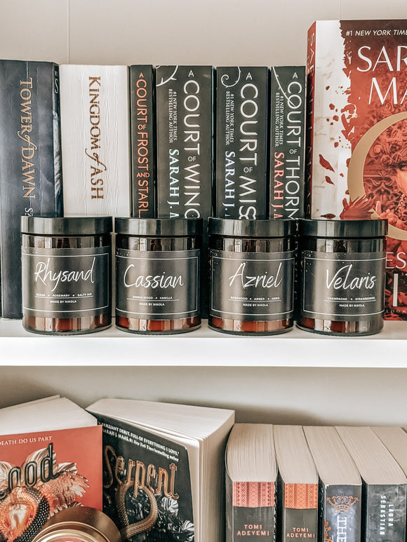ACOTAR 4 Jar Candle Bundle