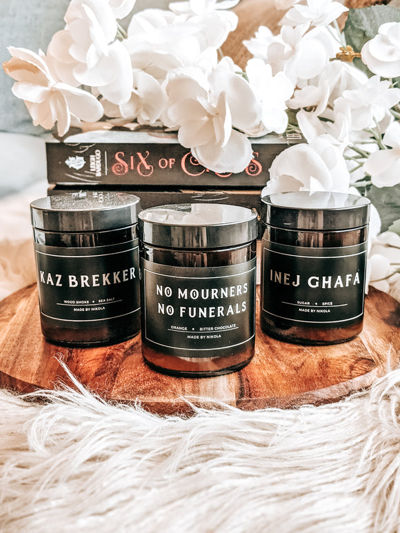 Six of Crows Candle Collection