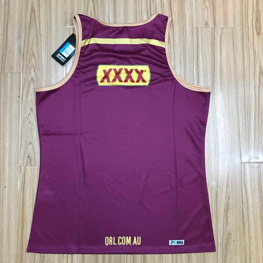 Maroons  QLD Rugby Training Singlet