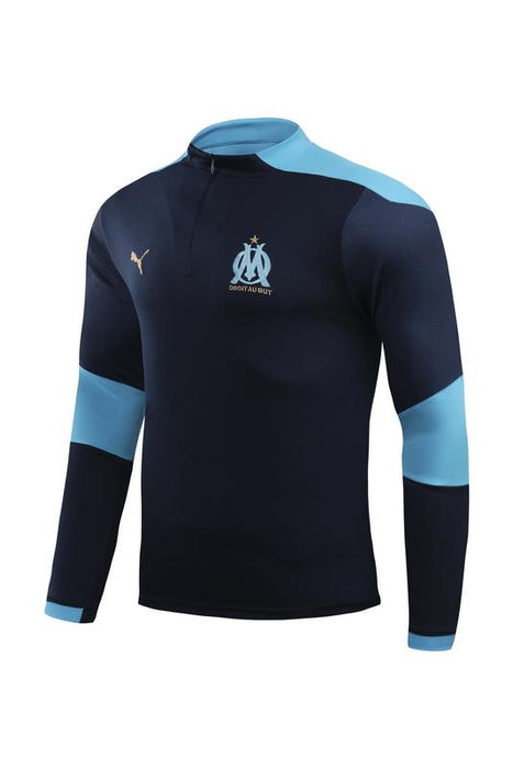 OM Marseille Dark Blue 2020-21 Training Kit ( TOP + PANT )