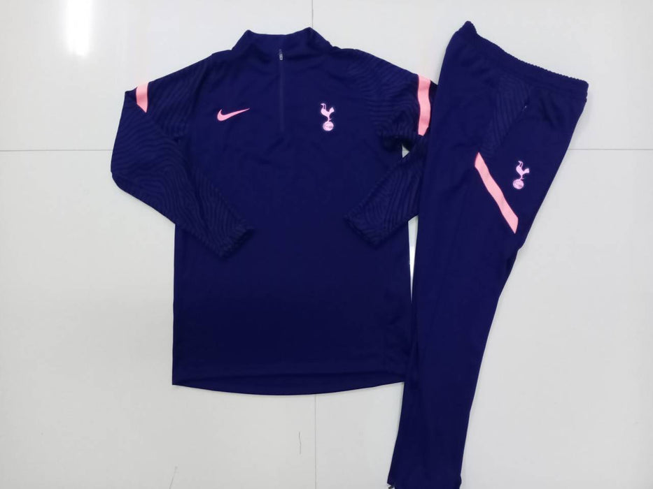 Tottenham Dark Blue 2020-21 Training Kit ( TOP + PANT )