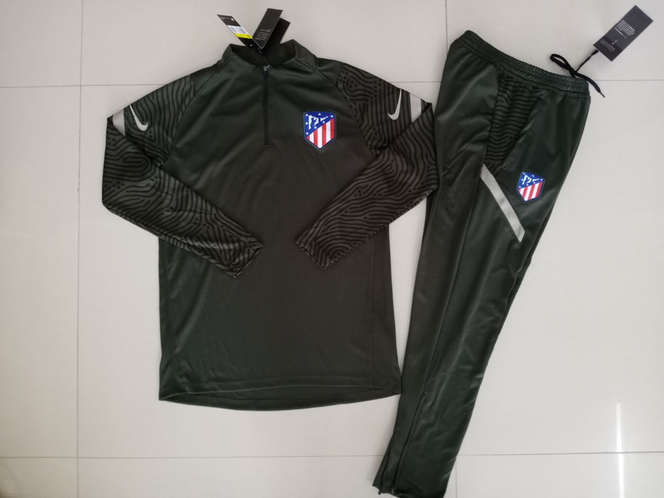 Atletico Madrid Khaki 2020-21 Training Kit ( TOP + PANT )