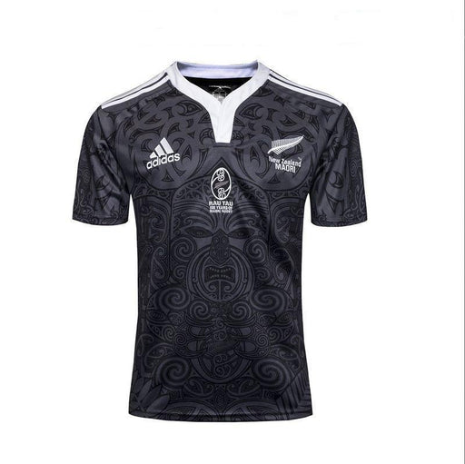 ALL BLACKS MAORI 100 YEARS JERSEY LIMITED EDITION