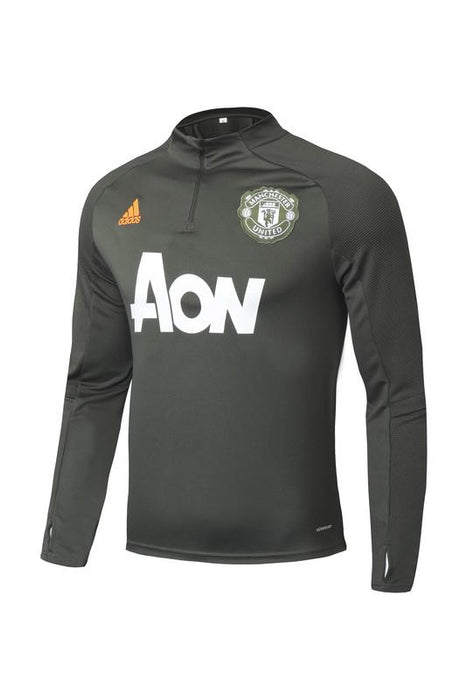 Manchester United Dark Green 2020-21 Training Kit ( TOP + PANT )
