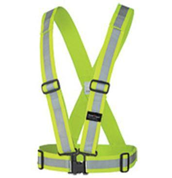 Hi Vis Safety Sash - 5592 Yellow/Green