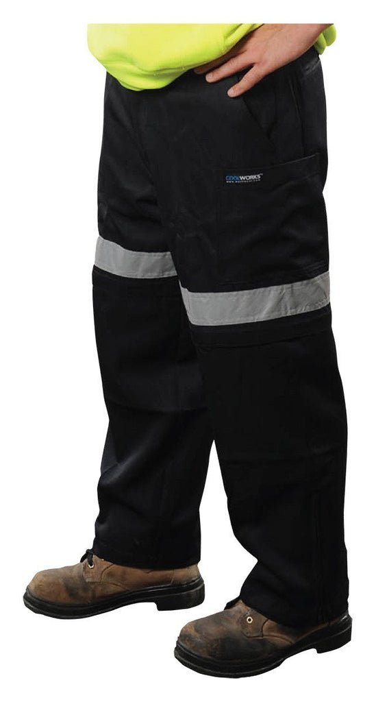 Coolworks ventilated work pants - CW1NVY
