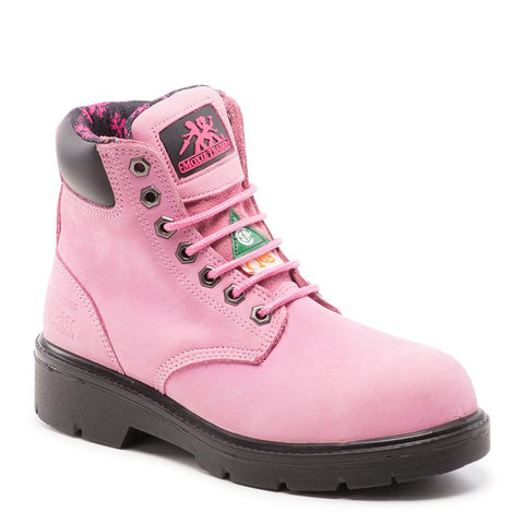 "Women's 6"" Safety Work Boots"