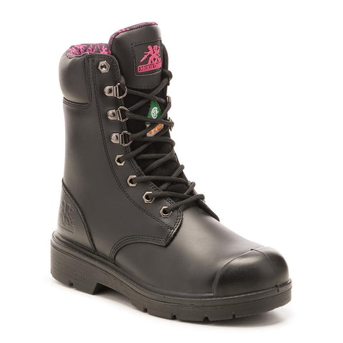 "Women's 8"" Safety Work Boots"