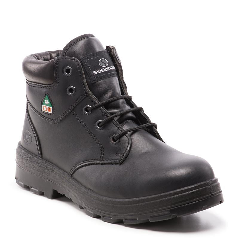 High Quality Durable 6u0026quot; Unisex 6u201d Work Boot - Made In Italy