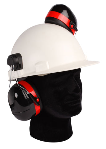 "Dynamic ""B52"" Cap Mounted Ear Muff"