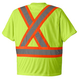 Pioneer Birdseye Safety T-Shirt TS-6991_back