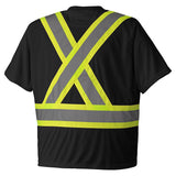 Birdseye Safety T-Shirt - TS-6992