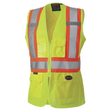 Women's Hi-Vis Safety Vest - TV-139HVG