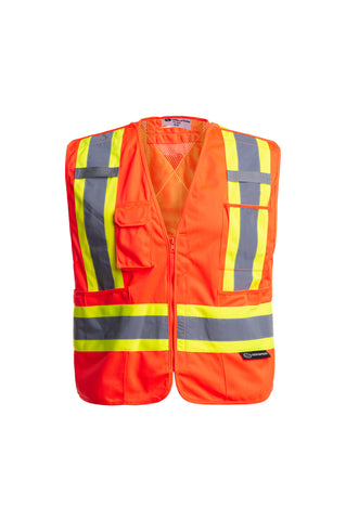 Tear Away Zip Safety Vest - TV-930