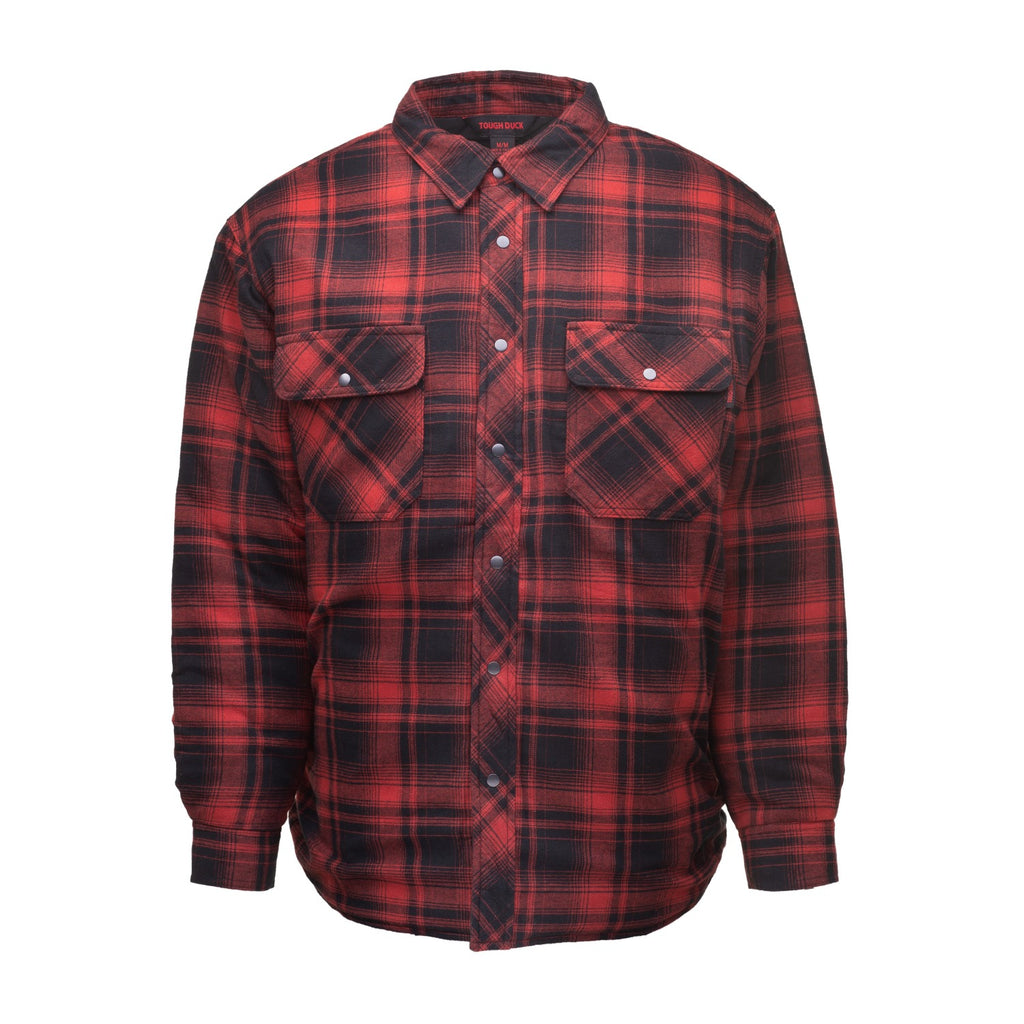 Quilt-lined Flannel Shirt - WS05