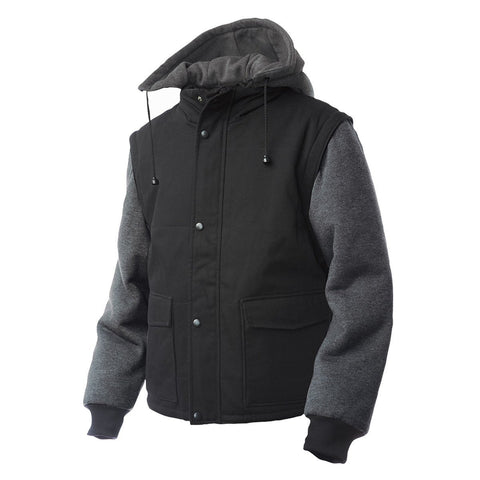 ZIP-OFF SLEEVE JACKET - I8A216