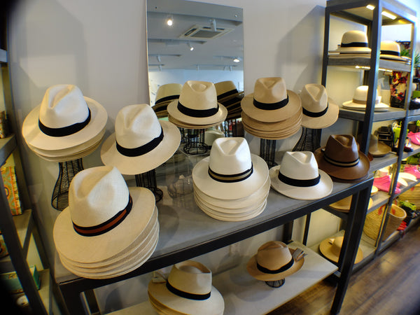 New season Original Panama Hats are in store now!