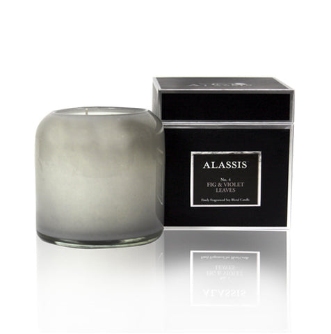 Alassis Amber & Vanilla Candle