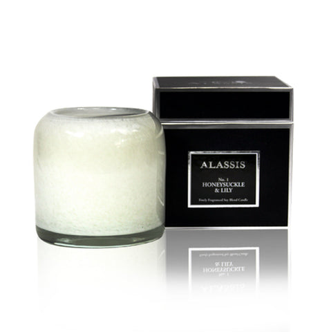 Alassis Honeysuckle & Lily Candle