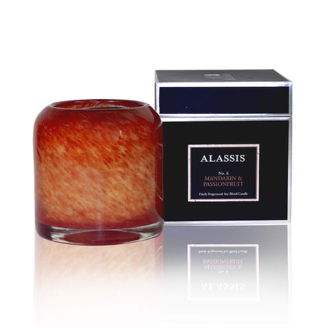 Alassis Mandarin & Passionfruit Candle