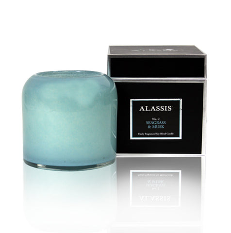 Alassis Seagrass & Musk Candle