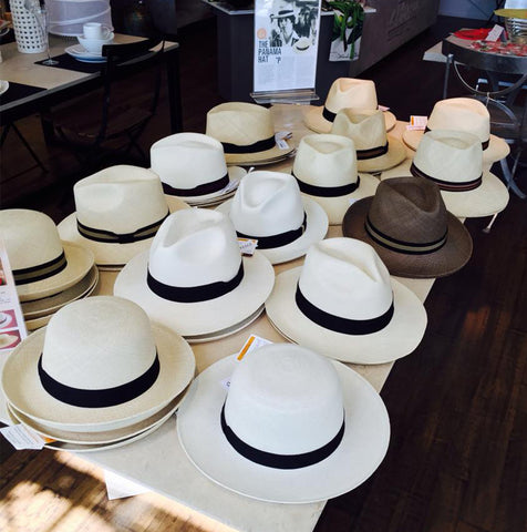 Fedora Panama Hat - Cream with Black Band